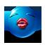 {blue}:kiss: